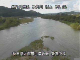 米代川-引次川合流点