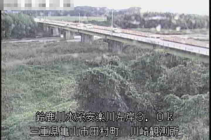 安楽川-川崎水位・雨量観測所