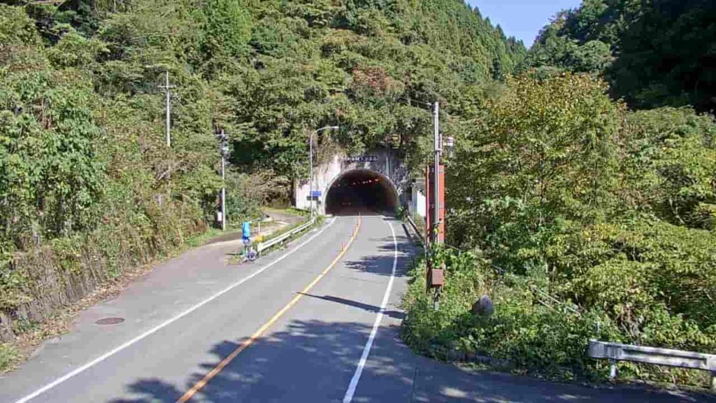 国道317号-水ヶ峠トンネル(松山市側)