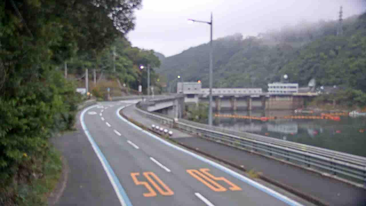 国道197号-鹿野川ダム付近