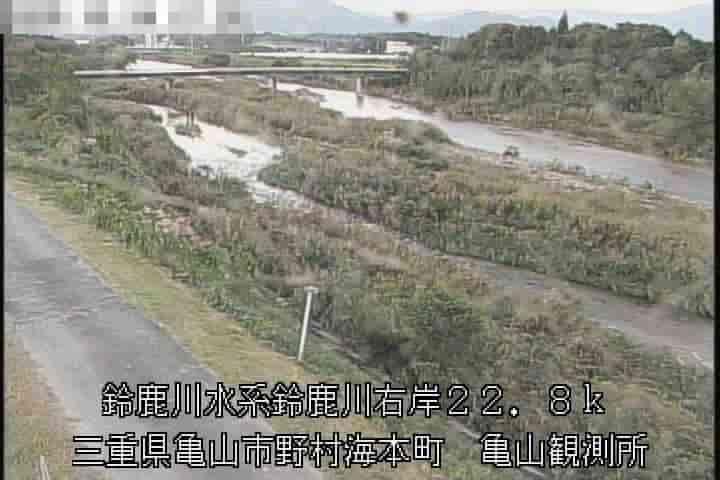 鈴鹿川-亀山観測所