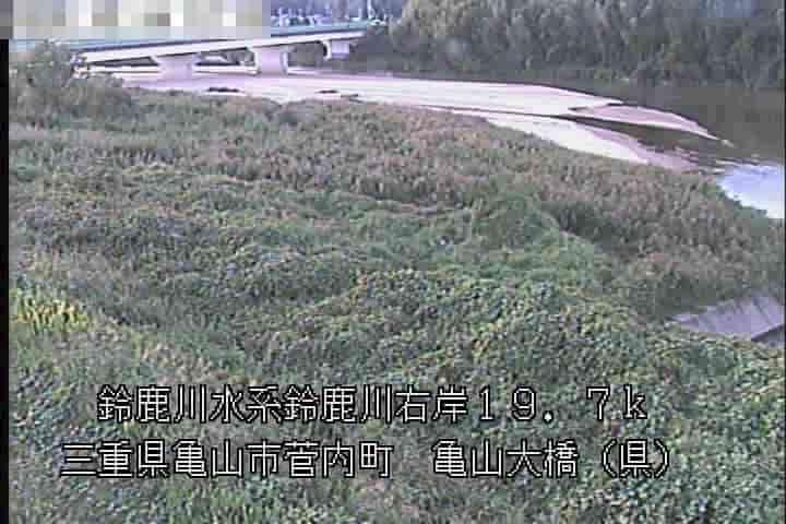 鈴鹿川-亀山大橋