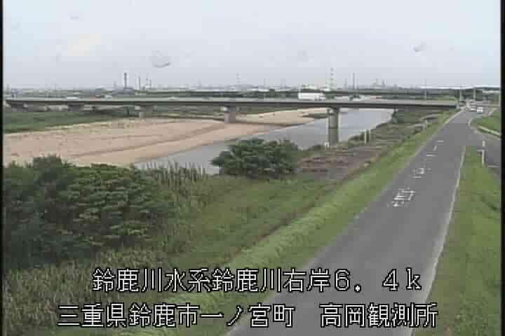 鈴鹿川-鈴鹿橋(高岡水位流量観測所)