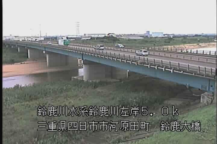鈴鹿川-鈴鹿大橋