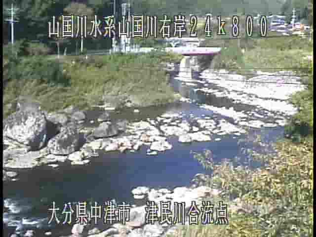 山国川-津民川合流点