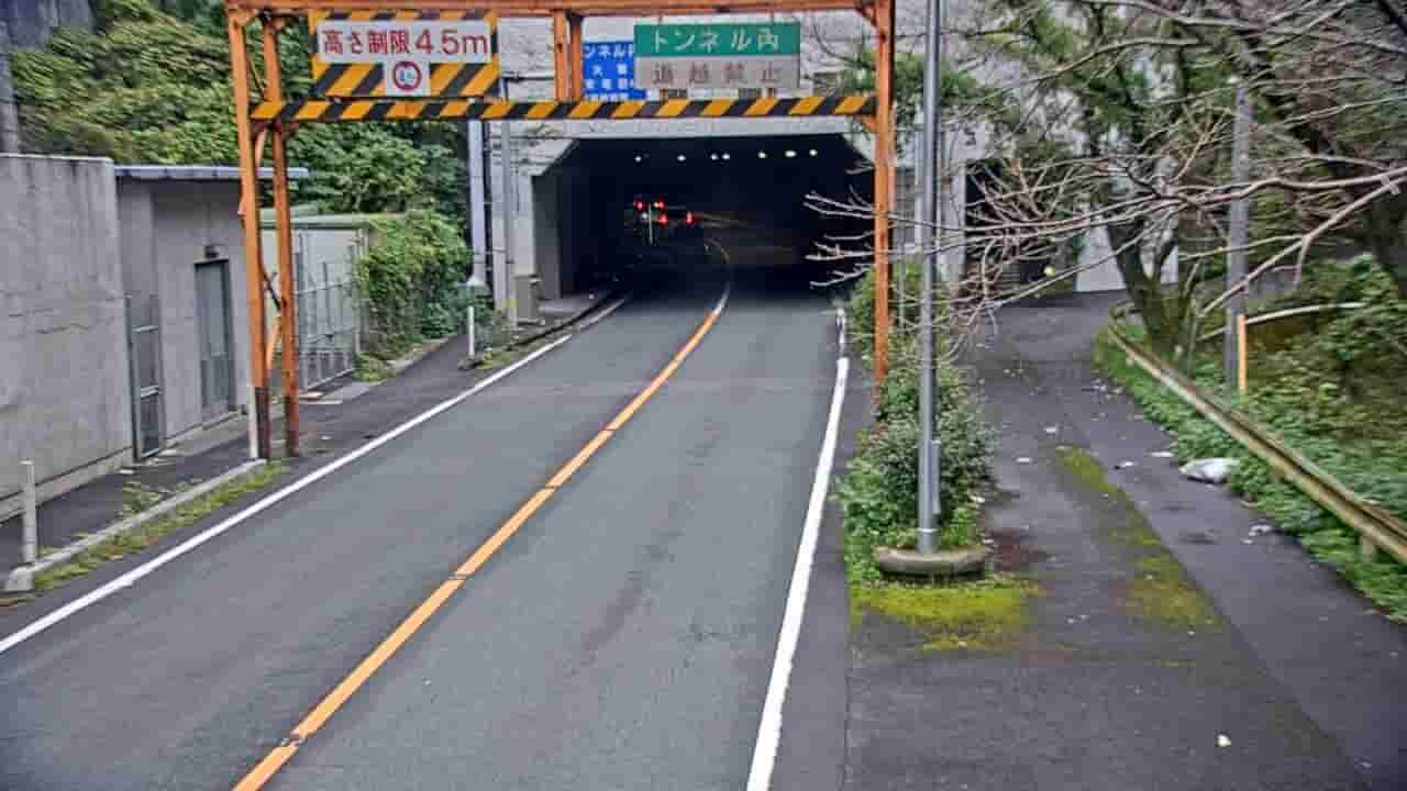 国道197号-夜昼トンネル-八幡浜市側