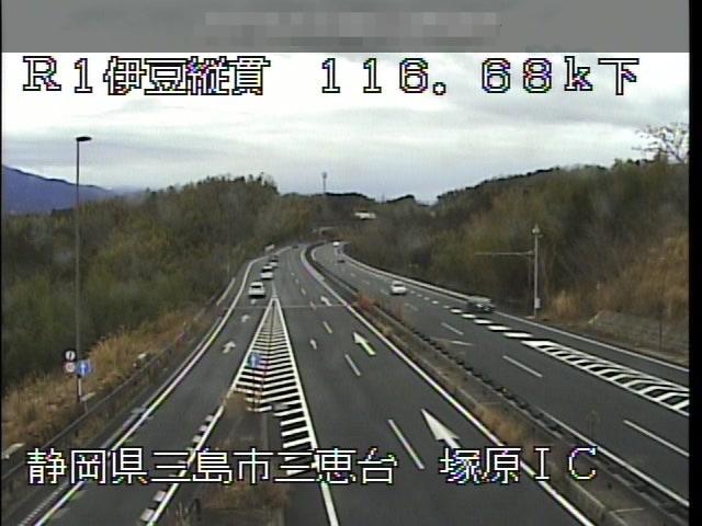 国道1号-伊豆縦貫自動車道(東駿河湾環状道路) -塚原IC付近