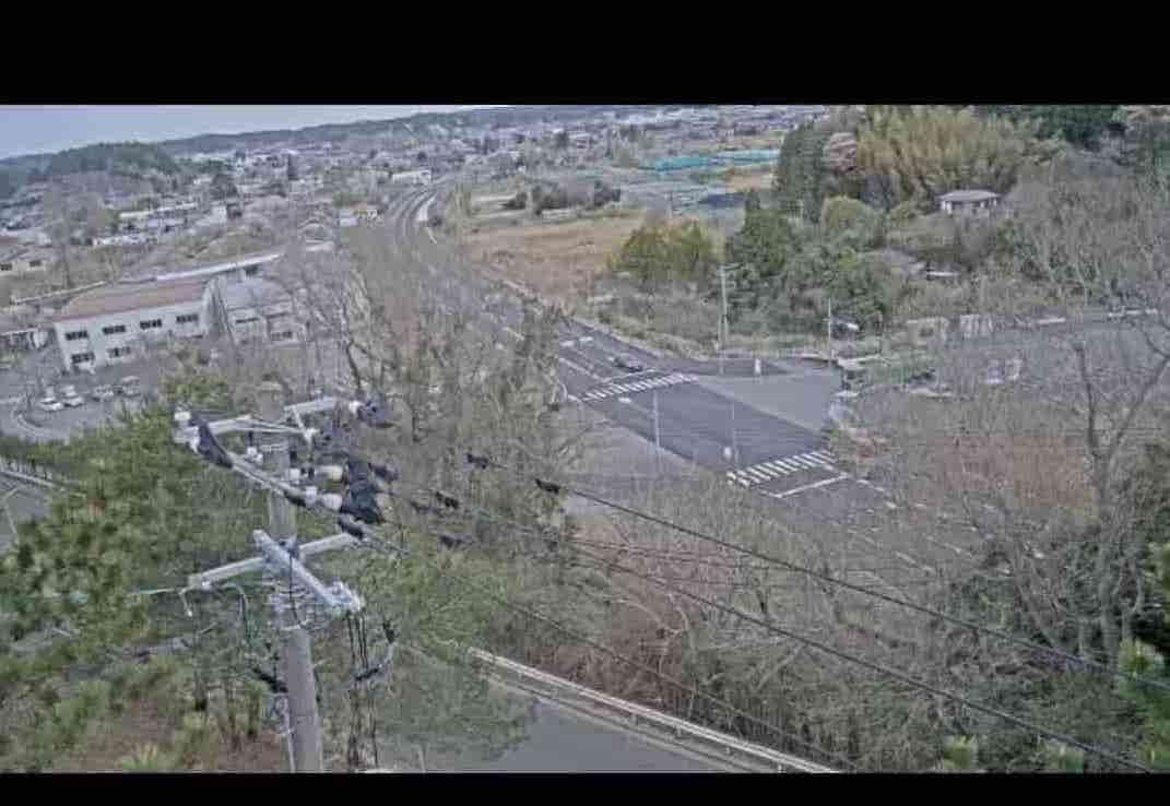 国道6号-東京電力双葉社宅公園付近