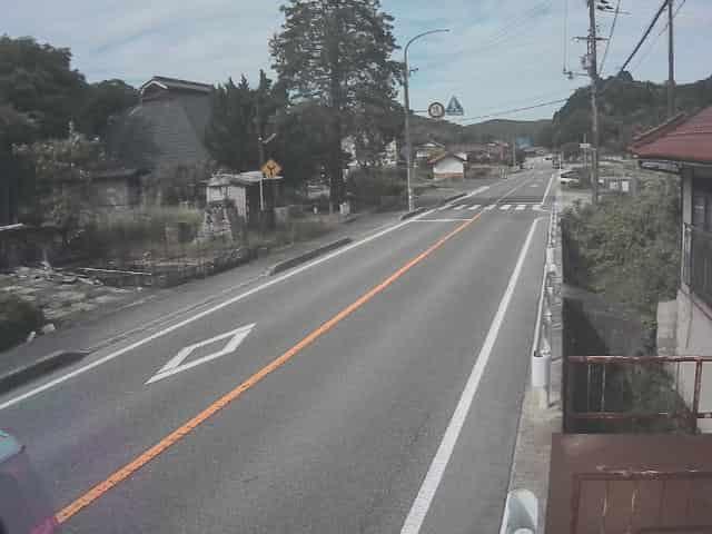 国道375号-三和町上壱付近