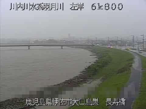 羽月川-長寿橋