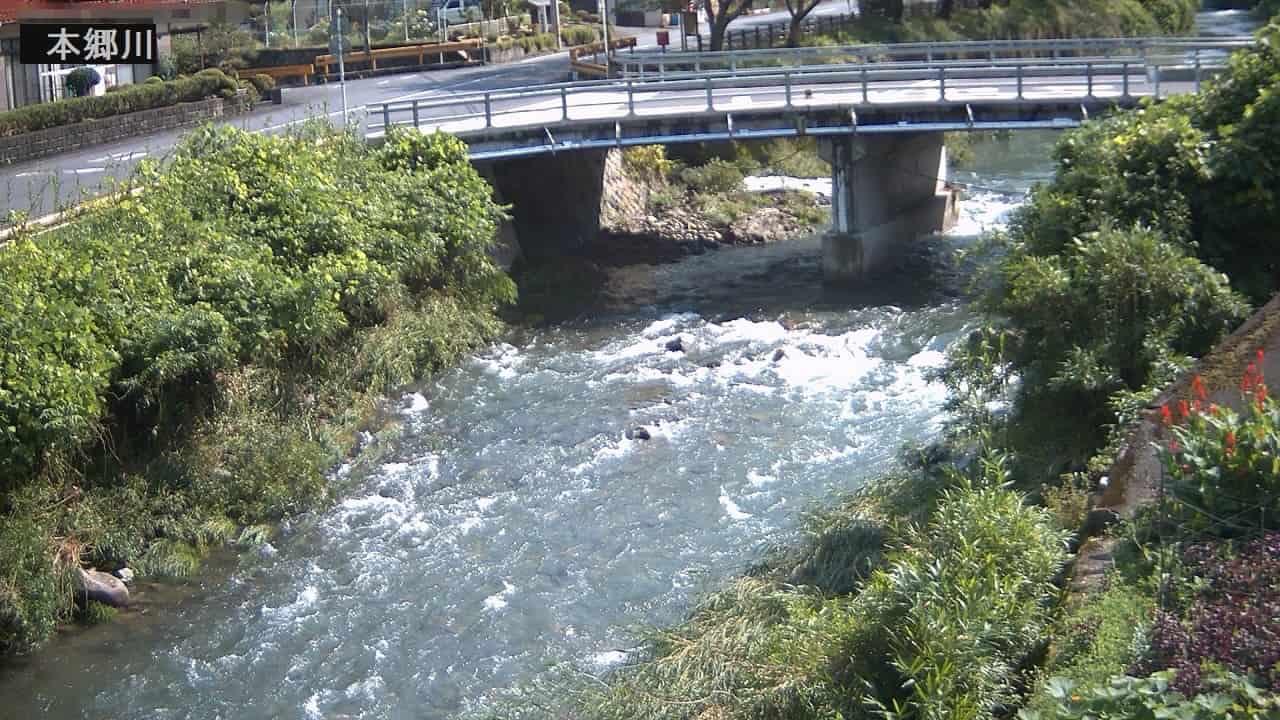 本郷川-広瀬橋