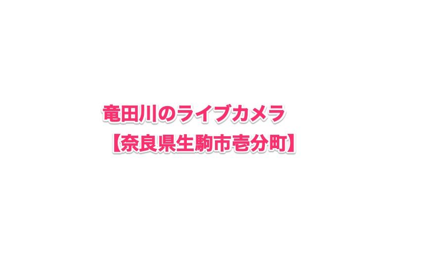 竜田川-奈良県生駒市