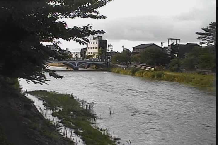 浅野川-浅野川大橋付近
