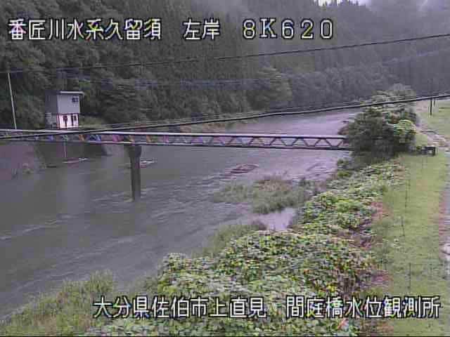 久留須川-間庭橋水位観測所付近