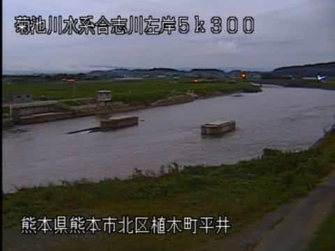 合志川-舟島橋下流