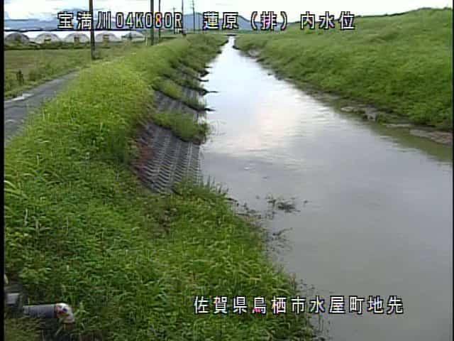 宝満川-蓮原排水機場