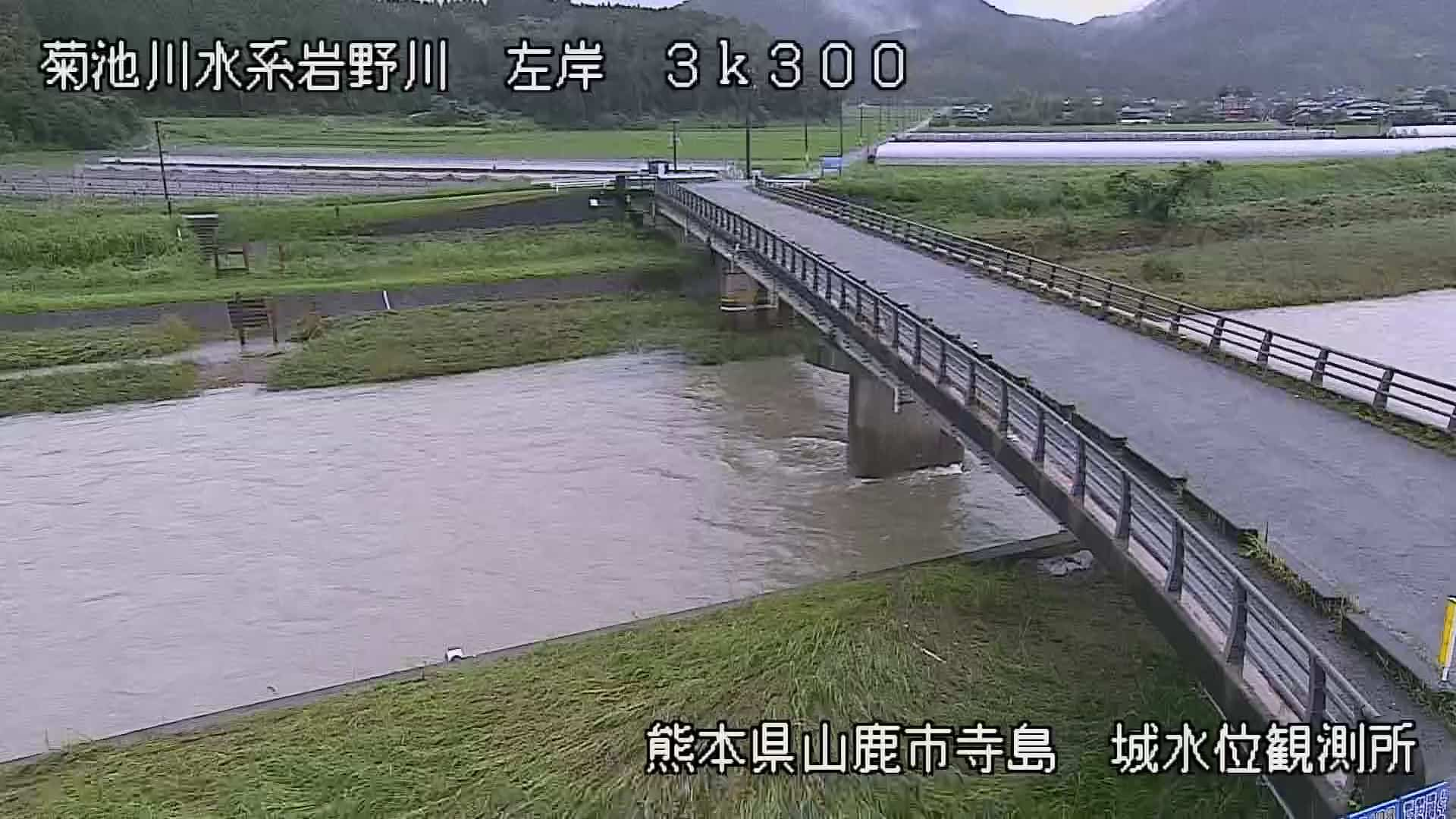 岩野川-城水位観測所