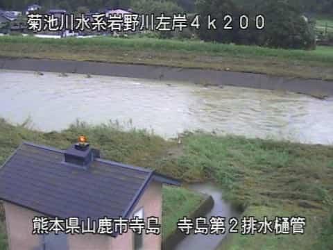 岩野川-寺島第2排水樋菅