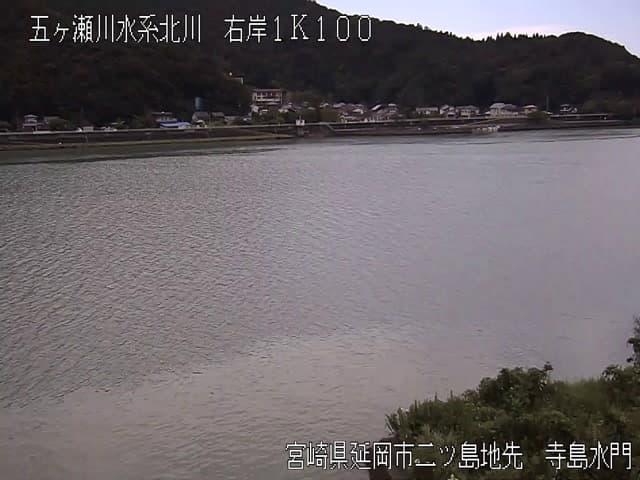 北川-寺島水門付近