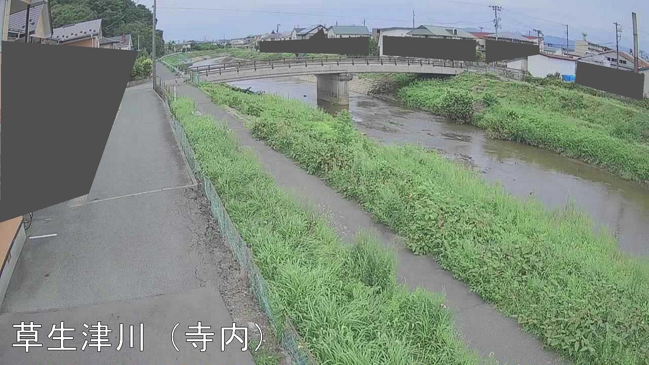 草生津川-三干刈橋付近