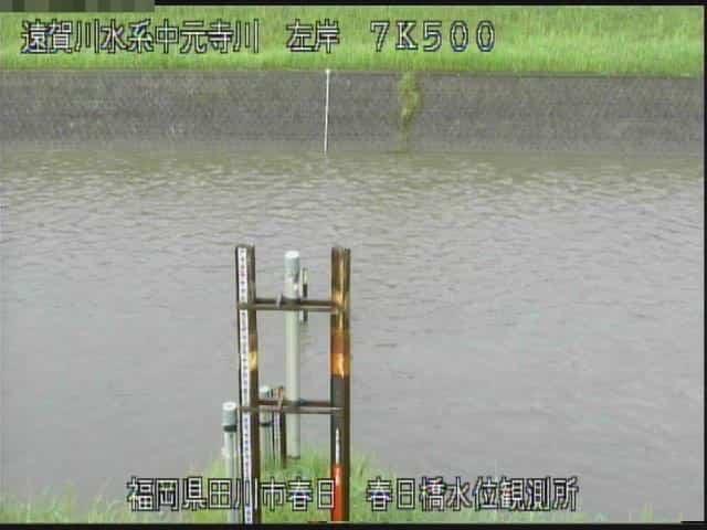 中元寺川-春日橋水位観測所