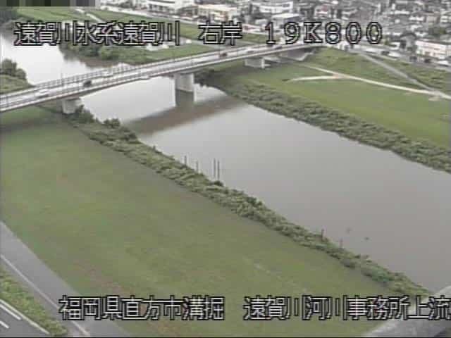 遠賀川-甚六橋付近