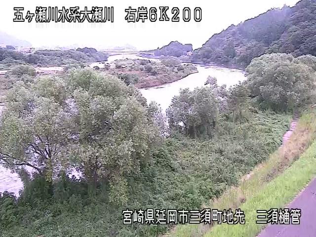 大瀬川-三須樋管付近