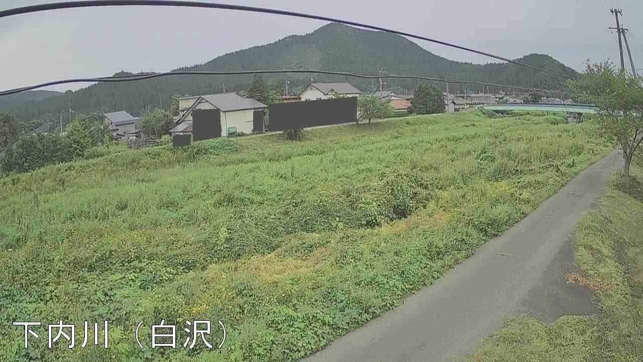 下内川-白沢付近
