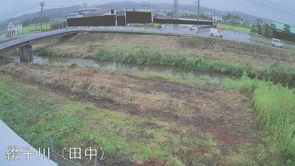 綴子川-鷹巣西屋敷付近