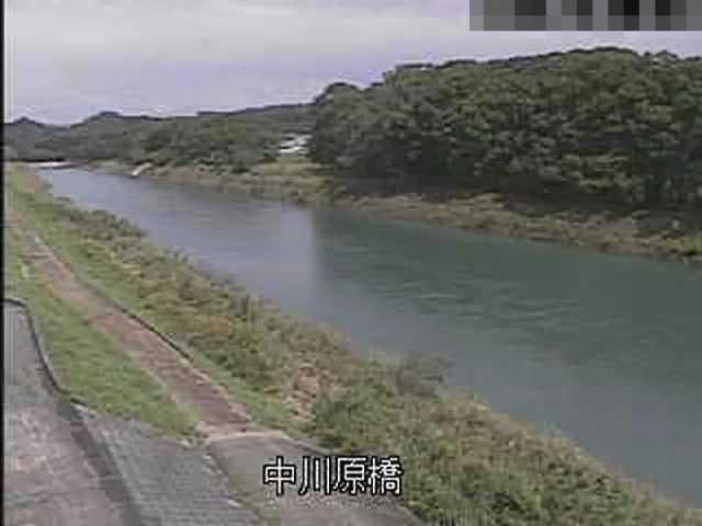矢部川-中川原橋